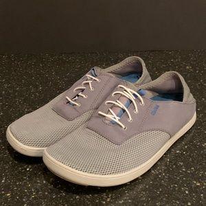 Olukai Nohea Moku Lace Sneakers. Men's 8